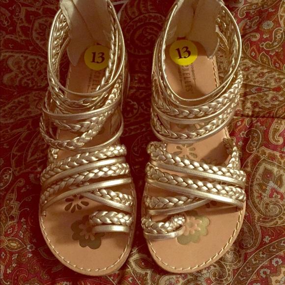 Little Girls Seychelles Size 13 Sandals